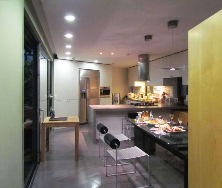반포 577 주택 : 한울건축의  다이닝 룸