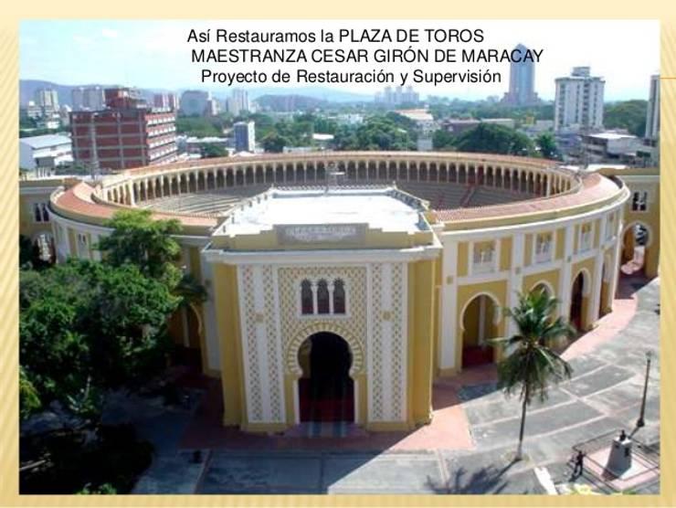 Proyecto de Restauración y Supervisión MAESTRANZA CESAR GIRÓN DE MARACAY : Estadios de estilo  por VEArquitectura