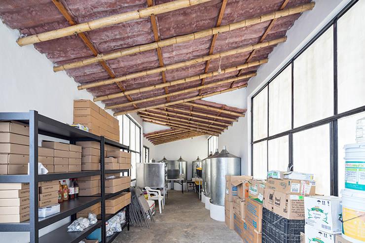 Centro de Producción de orgánicos Chilsec: Cocinas de estilo  por Komoni Arquitectos
