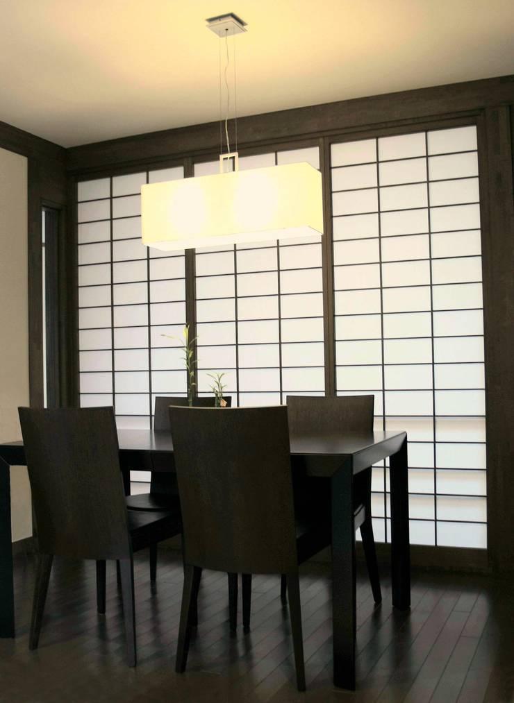箱根の家: 一級建築士事務所Architecが手掛けたダイニングです。