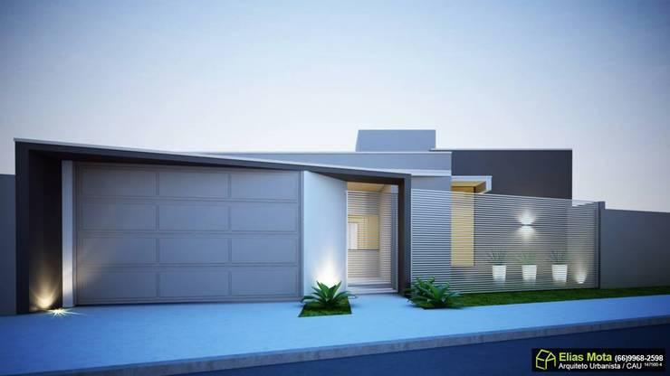 Casinha Casas minimalistas por Arquiteto Elias Mota Minimalista Cerâmica