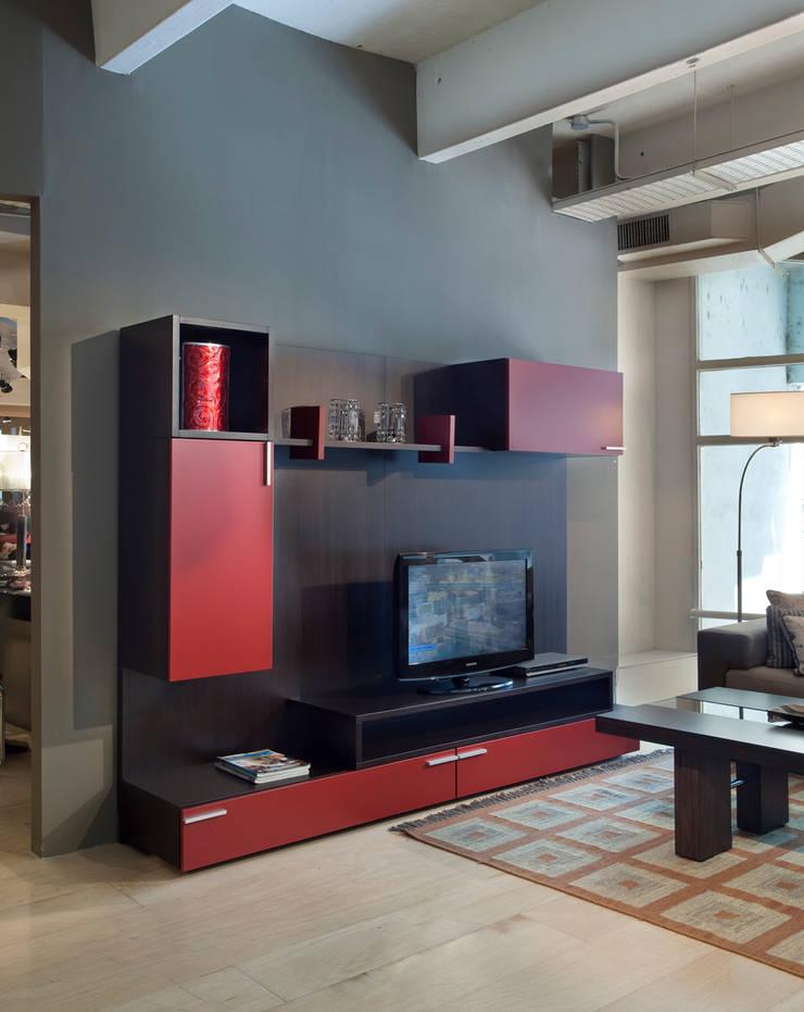 Wall Unit - Mitho: Livings de estilo  por Michael Thonet,