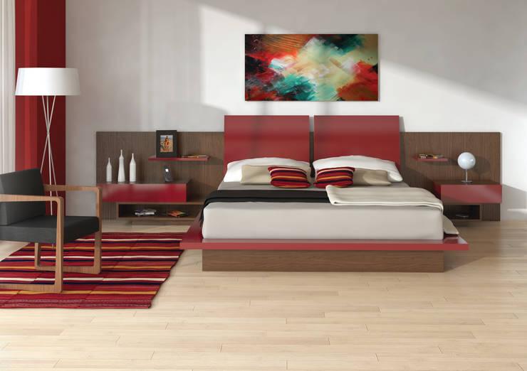 Dormitorio Mitho: Dormitorios de estilo moderno por Michael Thonet