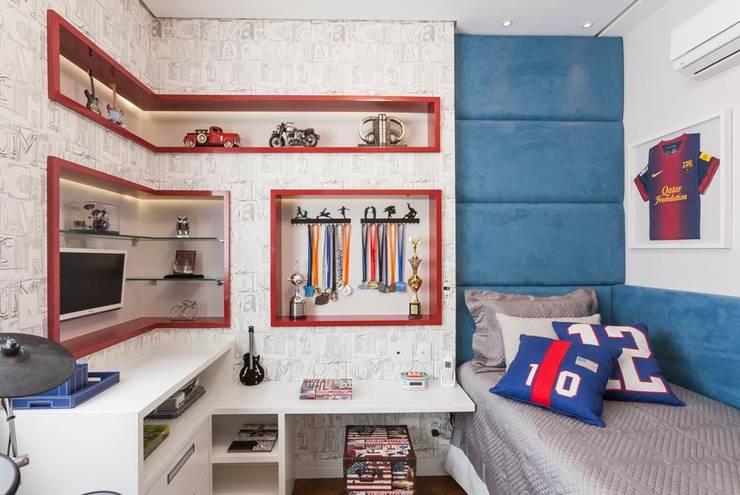 Dormitório Filho: Quarto  por FV
