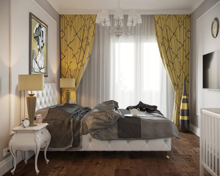 ЖК Речной: Спальни в . Автор – ПЛАНИРОВОЧКА