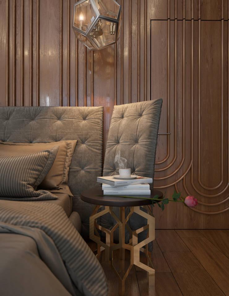Дизайн-проект коттеджа: Спальни в . Автор – MONTE FEE INTERIOR DESIGN STUDIO
