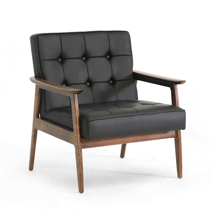 Leather Upholstery :  Living room by Purewood