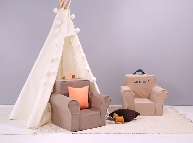 에어블랑 유아소파 <베이직솔리드>: AIRBLANC의  아이 방