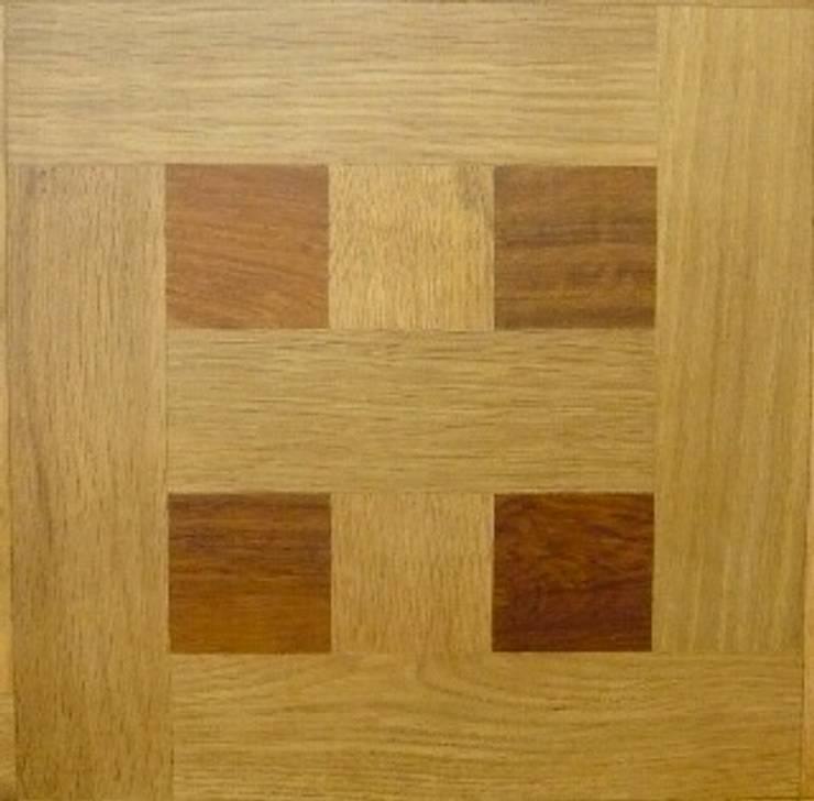 FANCY  MOSAIC FLOORING/PATTERN-A  MIXED: アルブルインクが手掛けた壁&床です。