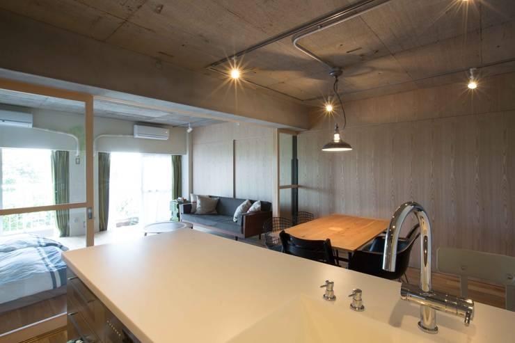 MSSH: <DISPENSER>architects 小野修 一級建築士事務所が手掛けたキッチンです。,