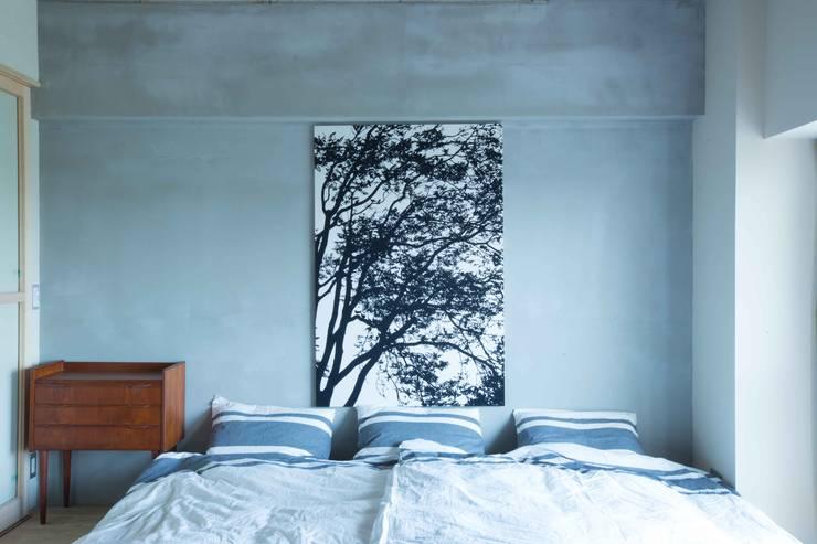 MSSH: <DISPENSER>architects 小野修 一級建築士事務所が手掛けた寝室です。,