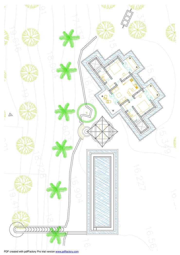 Bhatia Farm Residence: modern  by The Vrindavan Project,Modern