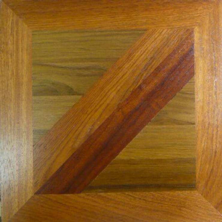 FANCY  MOSAIC FLOORING/PATTERN-B  MIXED: アルブルインクが手掛けた壁&床です。