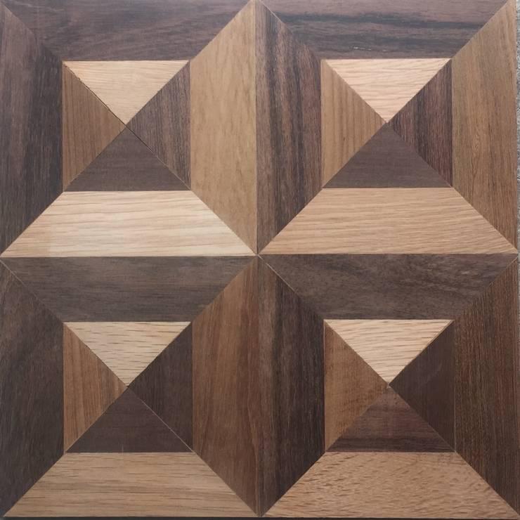 FANCY  MOSAIC FLOORING/PATTERN-D  MIXED: アルブルインクが手掛けた壁&床です。