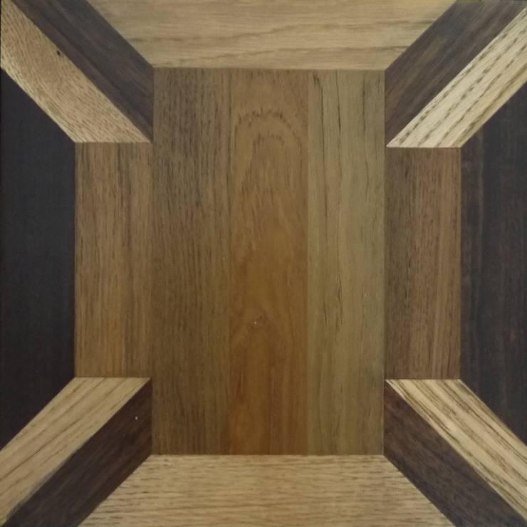 FANCY  MOSAIC FLOORING/PATTERN-E  MIXED: アルブルインクが手掛けた壁&床です。