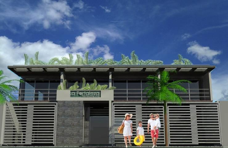 La Fortaleza:  de estilo  por IMAGINA OFICINA DE ARQUITECTURA
