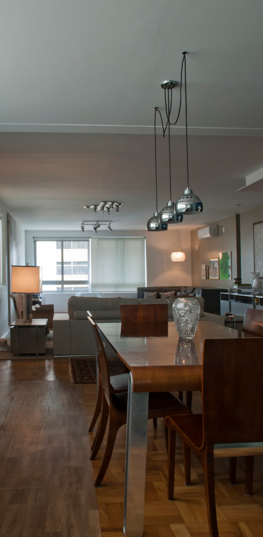 Interior | Apartamento – V: Salas de jantar modernas por ARQdonini Arquitetos Associados
