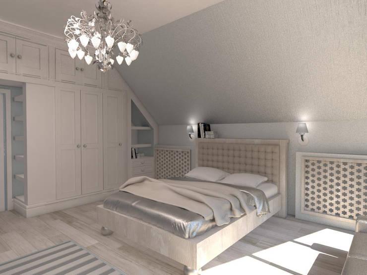 Современный классицизм: Детские комнаты в . Автор – Студия Маликова