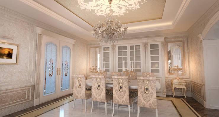 غرفة السفرة تنفيذ Студия Маликова