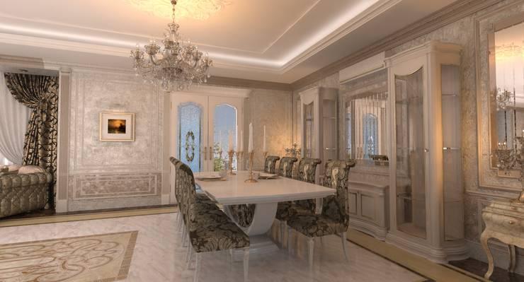 ห้องทานข้าว โดย Студия Маликова,