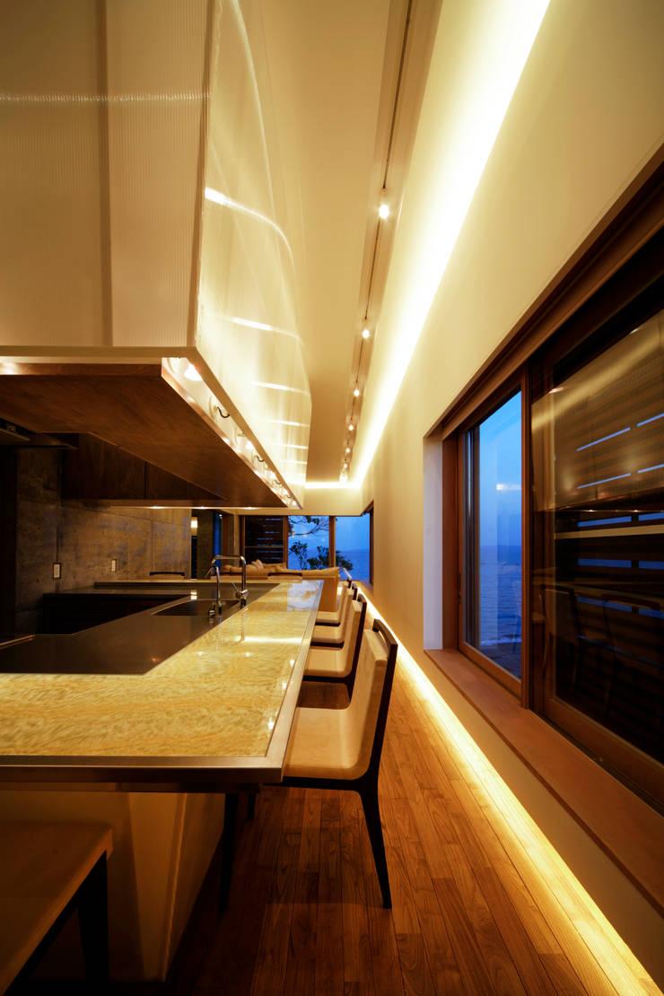 floating: 大井立夫設計工房が手掛けたキッチンです。,