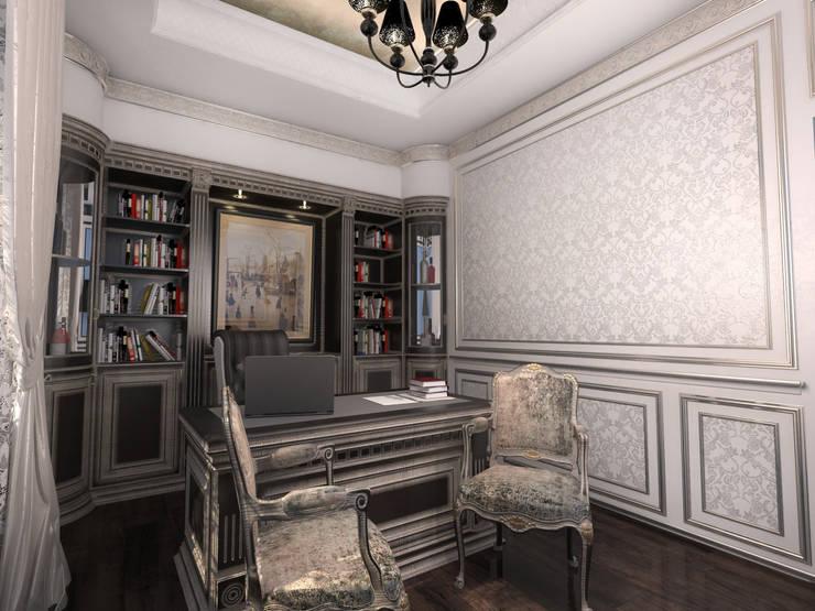 مكتب عمل أو دراسة تنفيذ Студия Маликова