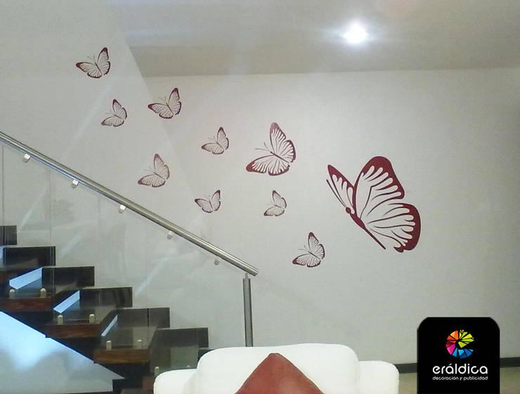Projekty,  Ściany zaprojektowane przez ERÁLDICA