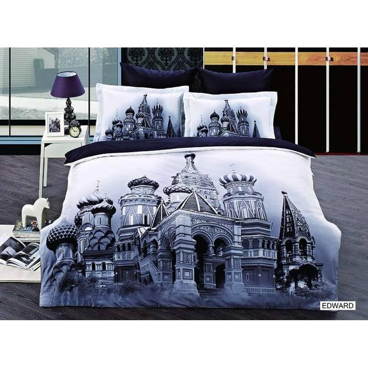 Evleremoda – Ev Tekstili: modern tarz Yatak Odası
