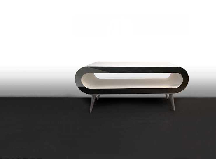 ARENA TABLE: Sala de estar  por Foursteel