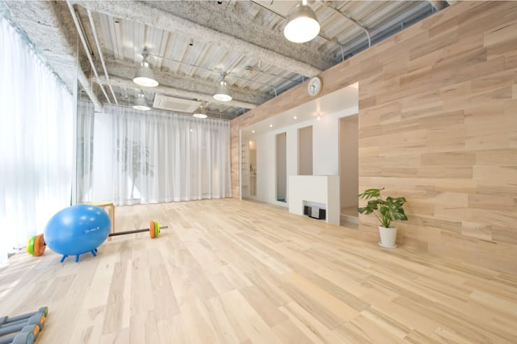 gym A: seets一級建築士事務所が手掛けた商業空間です。