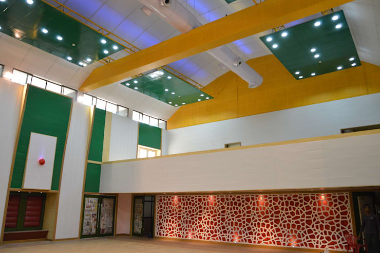 HPCL Ceiling and Panelling:  Office buildings by RTA SOLUTIONS LLP (Mumbai & Pune)