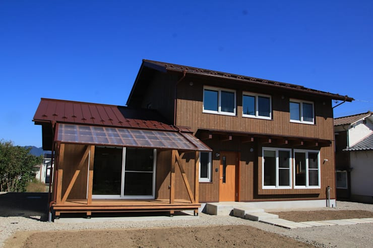 Nanhouse: (有)ガンバ建築設計が手掛けた家です。,