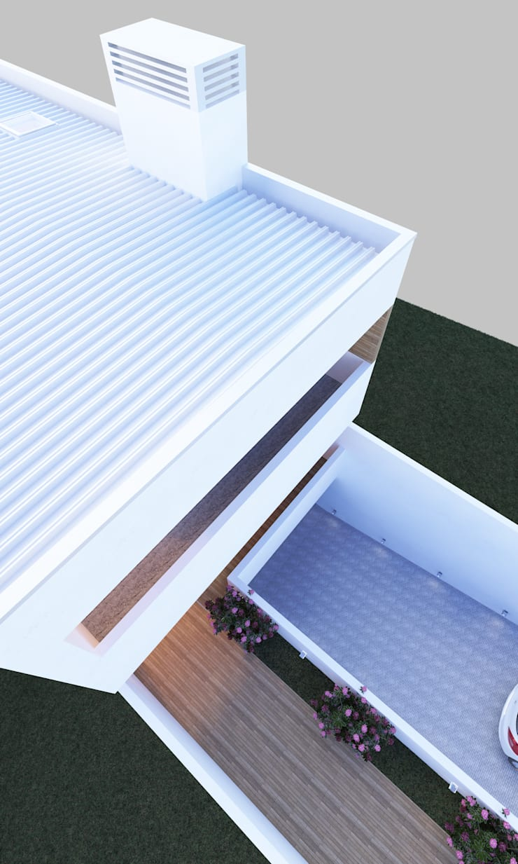 Casa SN: Casas  por Rúben Ferreira | Arquitecto