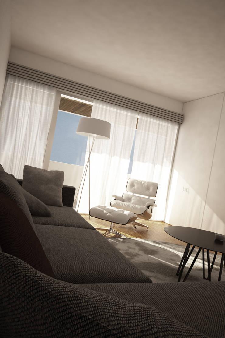 Casa SN: Quartos  por Rúben Ferreira | Arquitecto