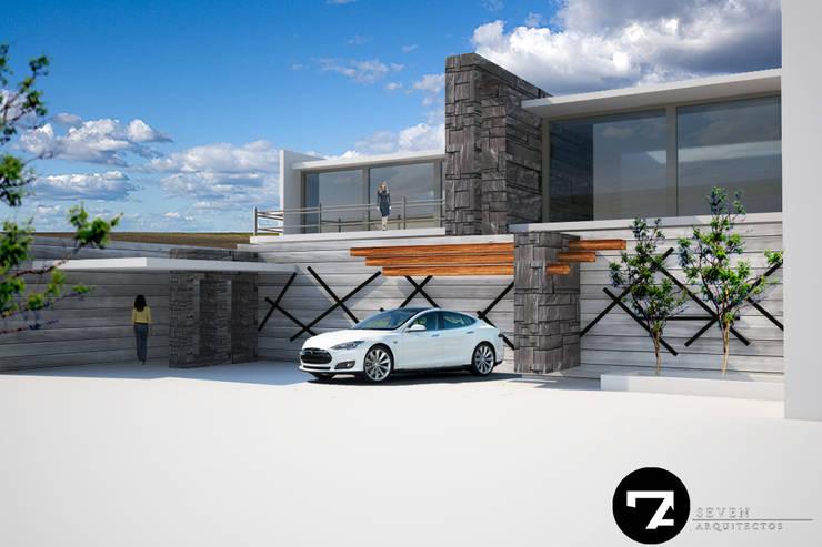 Proyectos Interiorismo: Casas de estilo  por Seven Arquitectos
