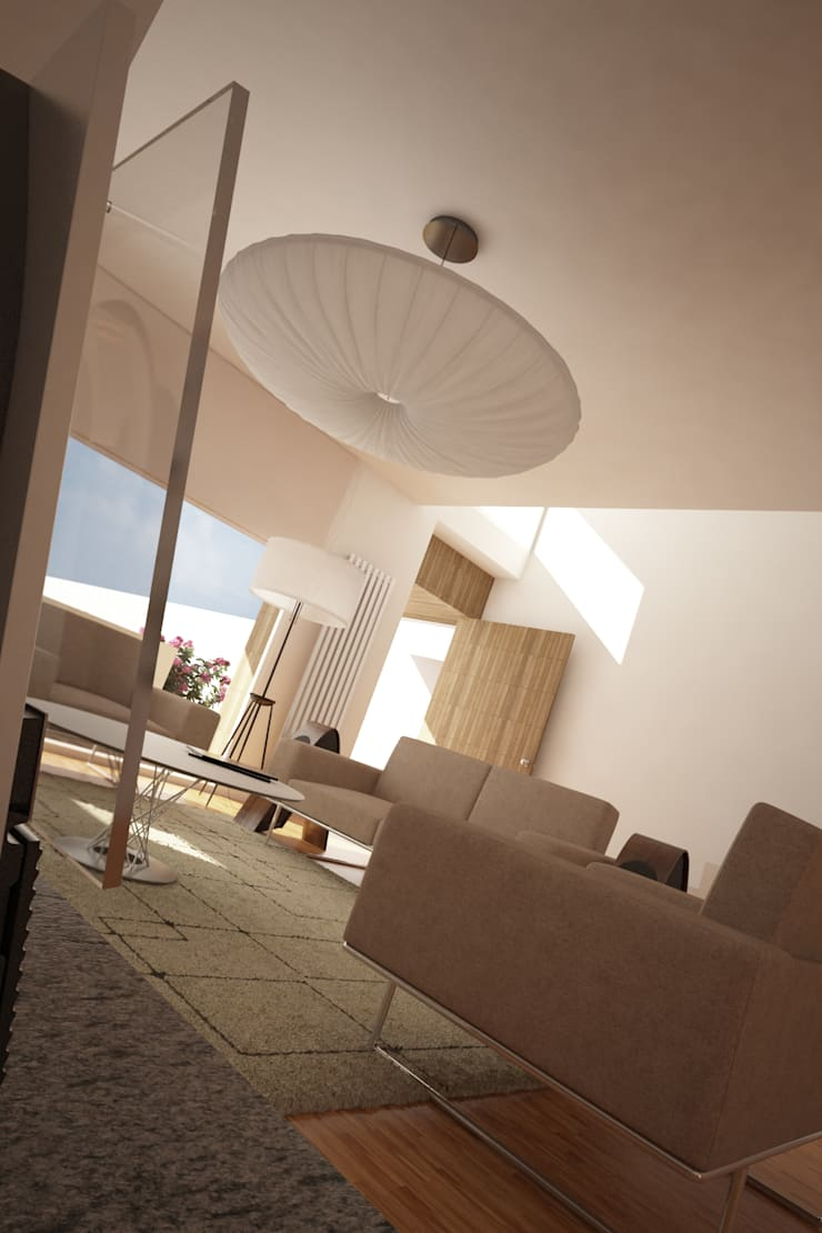 Casa SN: Salas de estar  por Rúben Ferreira | Arquitecto