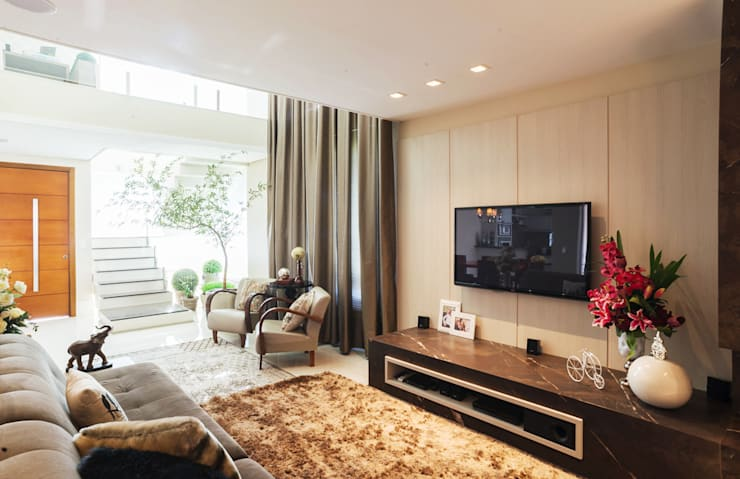 sala de estar: Salas de estar  por ND HAUS,