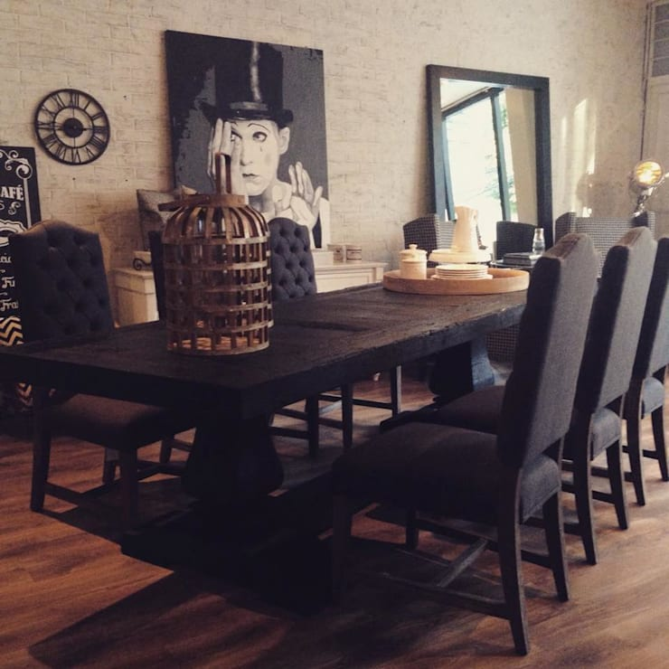 Casa Fosán: Comedor de estilo  por CASA FOSAN