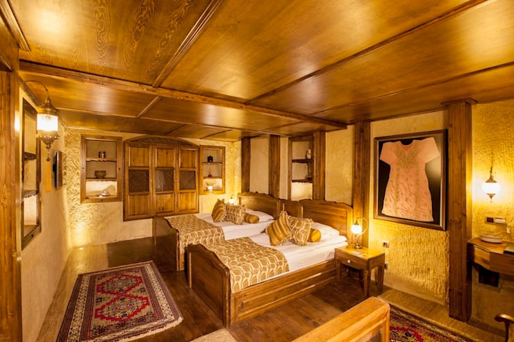 Schlafzimmer von Kayakapi Premium Caves - Cappadocia