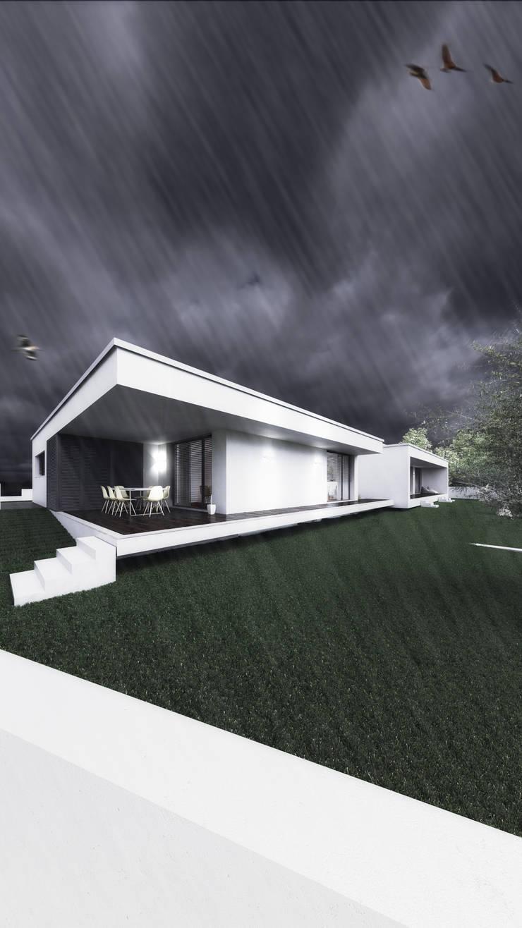 Casa SH: Casas  por Rúben Ferreira | Arquitecto