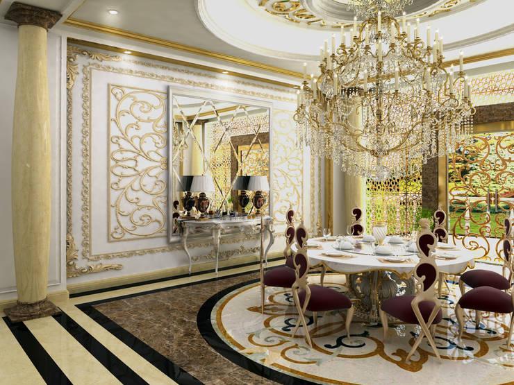 Abb Design Studio – VIP Yemek salonu - Türkmenistan:  tarz İç Dekorasyon