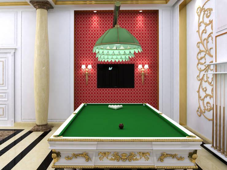 Abb Design Studio – VIP Yemek salonu – Türkmenistan:  tarz İç Dekorasyon