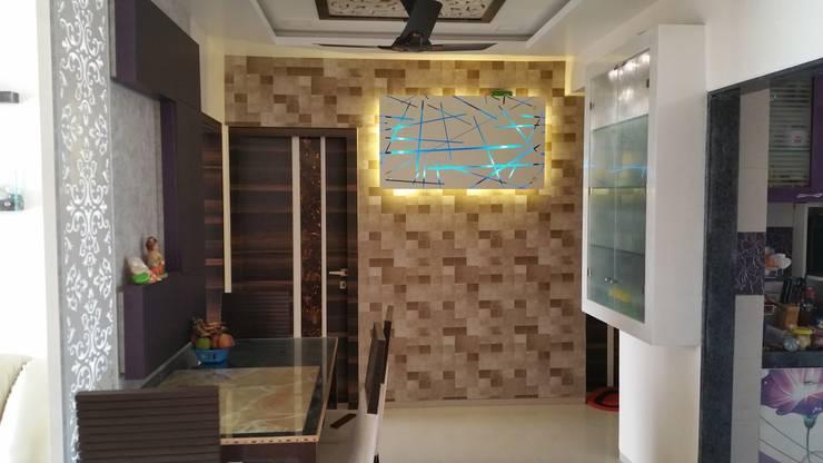 Pasillos y vestíbulos de estilo  por Alaya D'decor