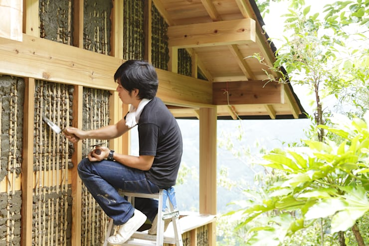 檜原村・土壁の東屋: info5381が手掛けた家です。