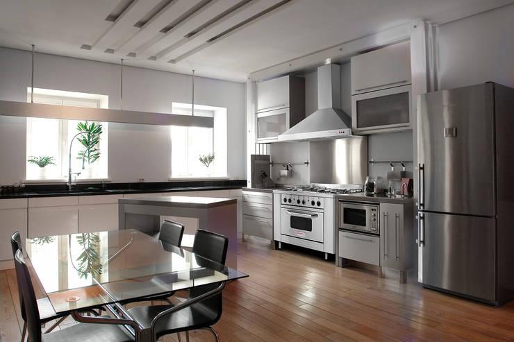 Cocina semi industrial minimalista Patagon Chef W45: Cocinas de estilo  por Patagon Chef