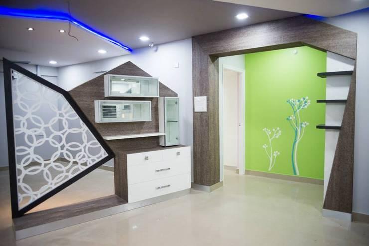 Apartment:  Living room by kalyanmajeti83