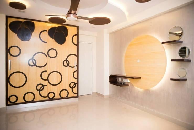 Apartment: modern Living room by kalyanmajeti83