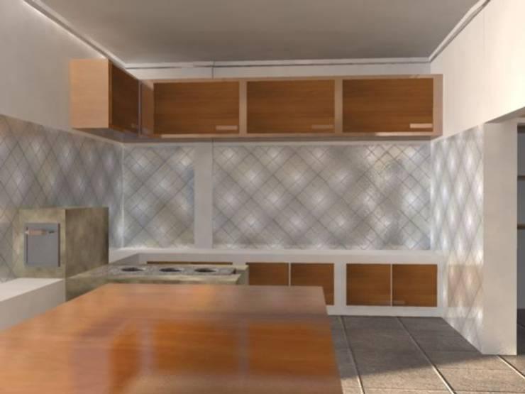 interiores: Cozinhas  por EDUARDO GATTI ARQUITETURA