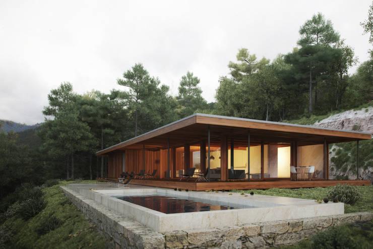 house in Gerês:   por nu.ma | unipessoal, lda - visualização 3D