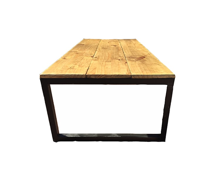 Mesa De Centro Diseno Industrial By Zur Basque Furniture Homify - Mesa-de-centro-diseo